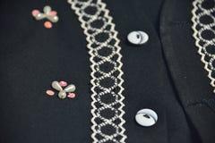 Knoop het naaien Stock Fotografie