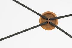 Knoop met kabels als conceptuele knoop Stock Afbeelding