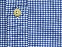 Knoop op overhemd Stock Afbeelding
