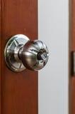 Knop om de deur te openen. Royalty-vrije Stock Afbeelding