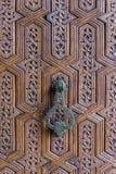 Knop van de ijzer de Marokkaanse Deur Stock Foto's