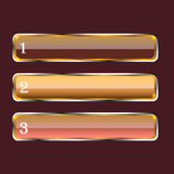 Knopen Stock Afbeelding