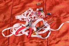 Knopen van verschillende kleuren Royalty-vrije Stock Afbeelding
