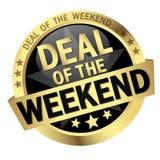 Knopf-Abkommen des Wochenendes lizenzfreie abbildung