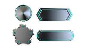 Knopfmetall-sci FI vektor abbildung