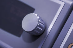 Knopp av den elektroniska apparaten Royaltyfri Bild