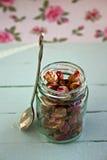 Knoppen van droge rozen Stock Afbeelding