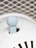 Knoppströmbrytare av den japanska elektriska fanen som aktiverar svänga Royaltyfri Bild