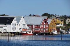 Knospe, Norwegen Stockbild