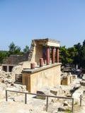 Knossos克利特宫殿  库存图片
