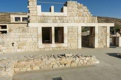 Knossos宫殿克利特 免版税库存照片