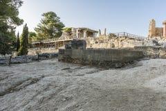 Knossos宫殿克利特 免版税库存图片