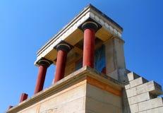 knossos宫殿 库存图片