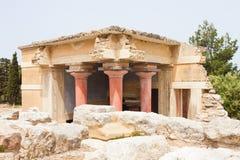 Knossos附属建筑  库存照片