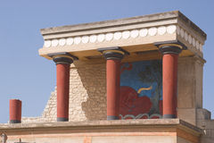 Knossos Fotografía de archivo