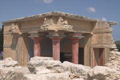 Knossos Stock Photo