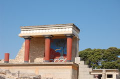 Knossos, Crete Fotos de Stock Royalty Free