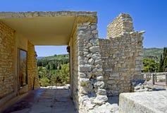 Knossos, Crete, Greece 2 Royalty Free Stock Photo