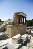 Knossos, Crete in Greece Stock Photography