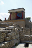 Knossos, Crete in Greece Stock Images