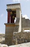 Knossos, Crete in Greece Royalty Free Stock Photos