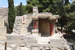 Knossos fördärvar, Kreta, Grekland Royaltyfri Foto
