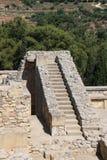 Knossos forntida stad på ön av Kreta fotografering för bildbyråer