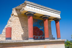 Knossos island crete royalty free stock photos