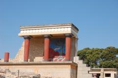 Knossos, Kreta Royalty-vrije Stock Foto's