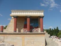 Knossos Kreta arkivfoton