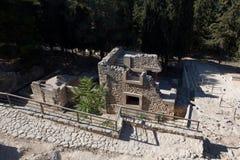 knossos minoan宫殿 库存照片