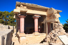 Knossos Minoan Palace Stock Images