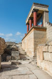 Knossos Minoan palace, Crete, Greece Stock Photo