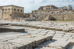 Knossos Minoan palace, Crete, Greece Royalty Free Stock Photo