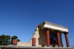 Knossos palace Stock Image