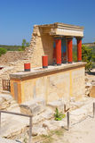 Knossos palace Royalty Free Stock Photos