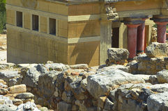 Knossos Palace Stock Photography