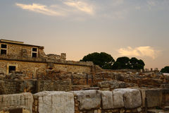 Knossos palace Royalty Free Stock Image