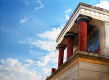 Knossos palace Stock Photography