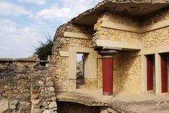 Knossos palace Royalty Free Stock Photography