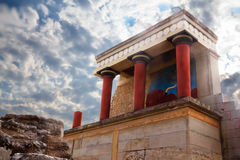 Knossos palace Stock Photos