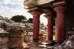 Knossos palace Royalty Free Stock Photos