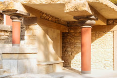 Knossos palace Royalty Free Stock Images