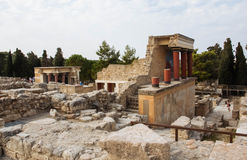 Knossos palace Royalty Free Stock Photography