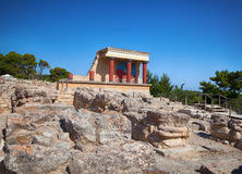 Knossos Palace At Crete, Greece. Royalty Free Stock Photography