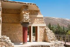 Knossos Palace. Crete Stock Photo