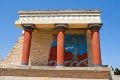 Knossos palace, Crete Stock Photography