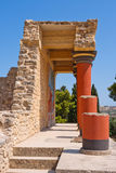 Knossos palace, Crete Royalty Free Stock Photography