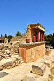 Knossos palace at Crete. Greece Royalty Free Stock Photography
