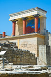 Knossos palace, Crete, Greece Royalty Free Stock Photo